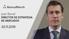 Análisis semanal de economía y mercados (20-11-2019)