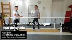 Tres parapléjicos vuelven a caminar gracias a un nuevo protocolo de rehabilitación
