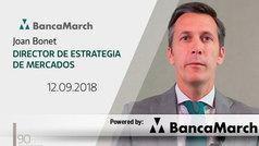 Análisis semanal de economía y mercados (12-09-2018)