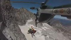 Cientos de rescates se producen cada verano en las montañas