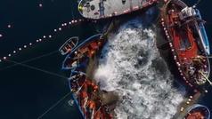 Comienza la ancestral pesca del atún rojo de la Almadraba
