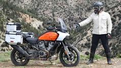 Pan America, el jabalí de Harley-Davidson