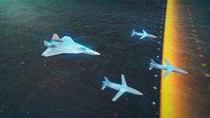 Así será el combate aéreo en el futuro, según Airbus