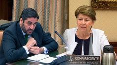 Tenso enfrentamiento entre Magdalena Álvarez y el portavoz del PP en la comisión de Spanair