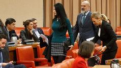 Una diputada de Vox, expulsada de la diputación del Congreso tras una bronca por los asientos y Cataluña