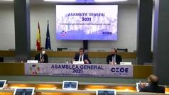 La CEOE respalda a Garamendi tras sus palabras sobre los indultos