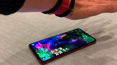 LG G8, así funciona el teléfono que lee la palma de la mano