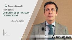 Análisis semanal de economía y mercados (26-09-2018)