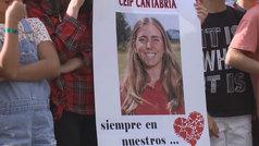 La golfista Celia Barquín, homenajeada en su lugar de origen