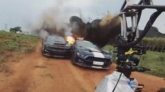Los accidentes de 'Fast & Furious 9' detrás de las cámaras