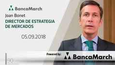 Análisis semanal de economía y mercados (05-09-2018)
