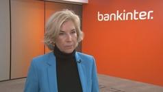 María Dolores Dancausa valora los resultados de Bankinter