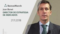 Análisis semanal de economía y mercados (21-11-2018)