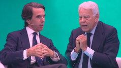 Aznar y González analizan la situación política en España
