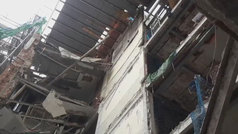 En el momento del derrumbe había más de 100 obreros trabajando en el hotel Ritz