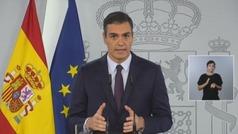 "Sánchez apela a la ""máxima disciplina social"""