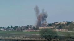 Detonan una bomba de una tonelada de la Segunda Guerra Mundial al sur de Inglaterra
