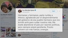 La violencia y el caos aumentan en Bolivia mientras Evo Morales huye a México