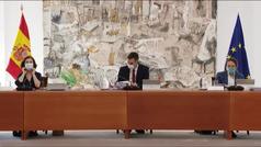 El Consejo de Ministros amplía hoy las ayudas sociales contra el coronavirus
