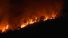 El fuego azota Huelva