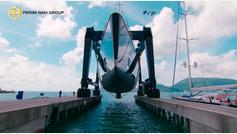 El nuevo velero del rey de Marruecos