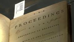 A subasta una limitada primera edición de la Constitución de los Estados Unidos