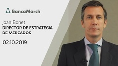 Análisis semanal de economía y mercados (02-10-2019)