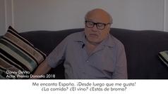 Danny DeVito repasa su trayectoria en el mundo del cine