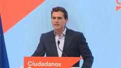 """Albert Rivera cita al PP para proponer a Sánchez """"una solución de Estado"""""""