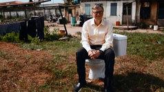 Bill Gates reinventa el inodoro