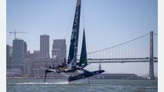 Así fue la batalla de Sail GP de San Francisco