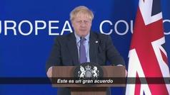 Boris Johnson trata de que el Parlamento Británico acepte su acuerdo para el Brexit con Bruselas