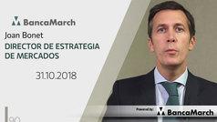 Análisis semanal de economía y mercados (31-10-2018)