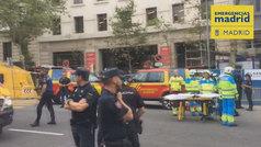 Fallece un trabajador por derrumbe de andamio en obras del Ritz