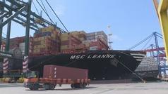 Las exportaciones españolas caen por sexto mes consecutivo