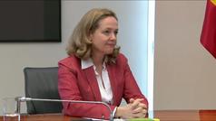Nadia Calviño podría convertirse hoy en la nueva presidenta del Eurogrupo