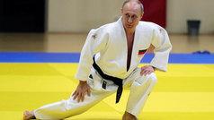 La destreza de Putin practicando judo