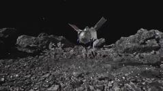 La nave Osiris-Rex de la NASA hace historia