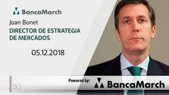 Análisis semanal de economía y mercados (05-12-2018)