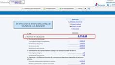 Renta 2018: Opciones de pago de la declaración
