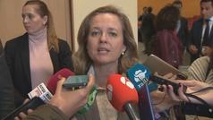 """Calviño pide una salida """"ordenada"""" del Reino Unido de la UE"""