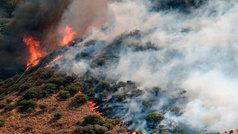8.000 evacuados por el fuego que avanza sin control en Gran Canaria