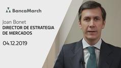 Análisis semanal de economía y mercados (04-12-2019)