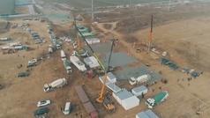China vuelve a montar sus macro hospitales contra el Covid