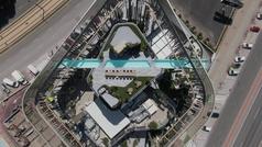 Así es el Odiseo el nuevo centro de ocio de Murcia que acoge la piscina volada más grande de Europa