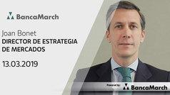 Análisis semanal de economía y mercados (13-03-2019)