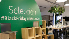 Casa Amazon, las compras del Black Friday en la tienda física de Amazon en Madrid