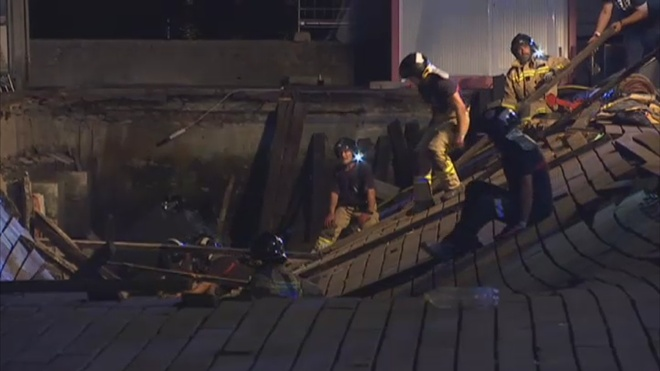 Derrumbe de muelle durante concierto en España deja 313 heridos