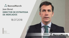 Análisis semanal de economía y mercados (18-07-2018)