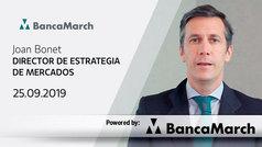 Análisis semanal de economía y mercados (25-09-2019)